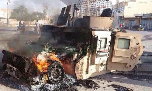 Nhà nước Hồi giáo sắp chiếm trọn miền tây Iraq, đe dọa Baghdad
