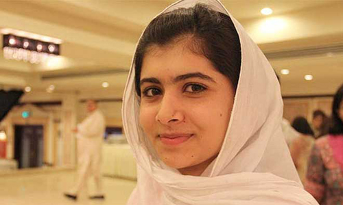 Cô bé Malala Yousafzai. Ảnh: Reuters.
