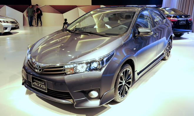 Chi tiết Toyota Corolla Altis 2014 - thay đổi đột phá
