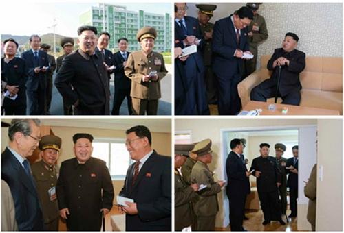 Lãnh đạo Triều Tiên xuất hiện với cây gậy. Ảnh: Rodong Sinmun