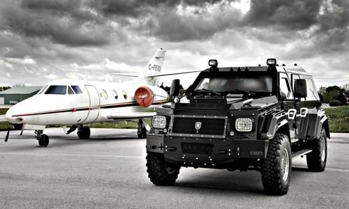 Knight XV - SUV lớn nhất thế giới