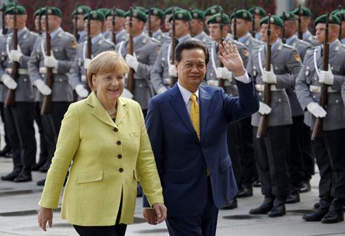 Báo Đức viết về những thành tựu trong quan hệ 40 năm Việt - Đức