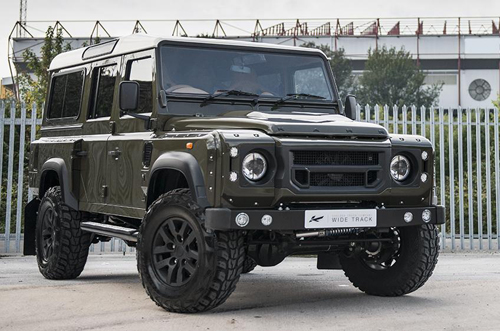 Land Rover Defender - quý ông off-road