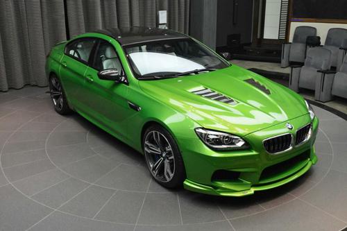 BMW M6 màu xanh lá Gran Coupe sport