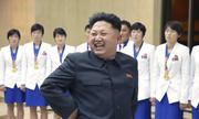Kim Jong-un mở tiệc chiêu đãi vận động viên