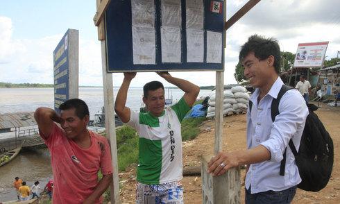 Lao động Việt ở thượng nguồn Amazon