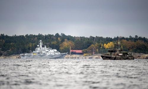 Thụy Điển sẵn sàng dùng vũ lực với vật thể bí ẩn dưới biển