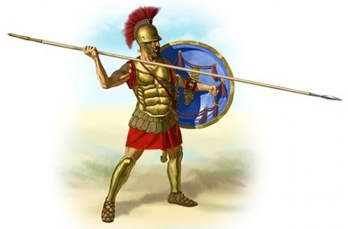 Một đấu sĩ La Mã. Ảnh: Pixabay