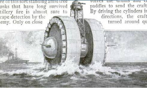 Các phát minh kỳ lạ cách đây 100 năm
