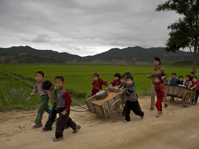 Cuộc sống ở thôn quê Triều Tiên