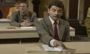 Mr Bean đi thi