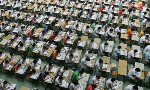 Gần 2.500 sinh viên Trung Quốc gian lận trong kỳ thi