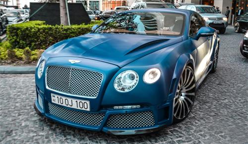 Bentley Continental V8 độ ấn tượng ở Azerbaijan