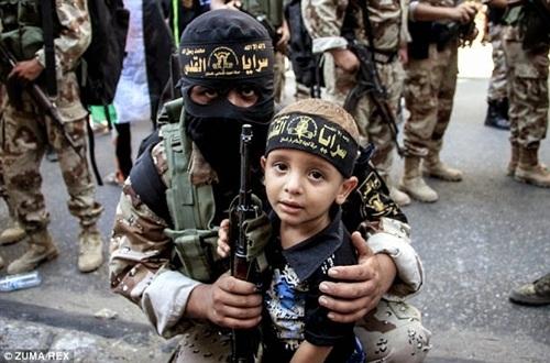 Những lá chắn sống của Nhà nước Hồi giáo