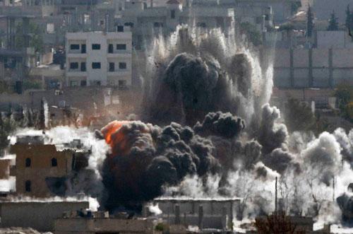 Phiến quân Hồi giáo kiểm soát hơn một nửa thị trấn Kobani