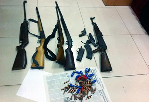 Phá đường dây vận chuyển ma túy, vũ khí lớn ở Quảng Ninh