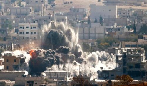 Liên minh của Mỹ không kích Kobani, mở đường cho viện binh