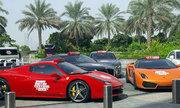 Siêu xe làm taxi miễn phí tại Dubai