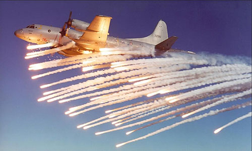 Một chiếc máy bay giám sát P-3 Orion, loại máy bay mà Washington có thể sẽ bán cho Hà Nội. Ảnh:  Aviation Spectator