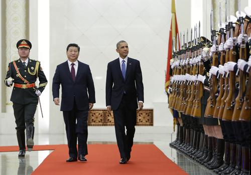 Tổng thống Obama vs Chủ tịch Tập Cân Bình