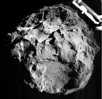 Robot thăm dò lần đầu tiên đáp xuống sao Chổi