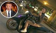 Beckham chê bà mẹ Việt chở con đuổi theo chụp ảnh