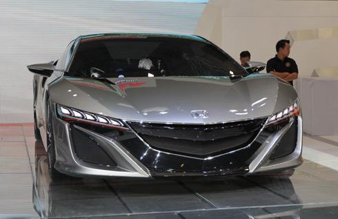 Honda NSX concept - tâm điểm của Việt Nam Motor Show 2014