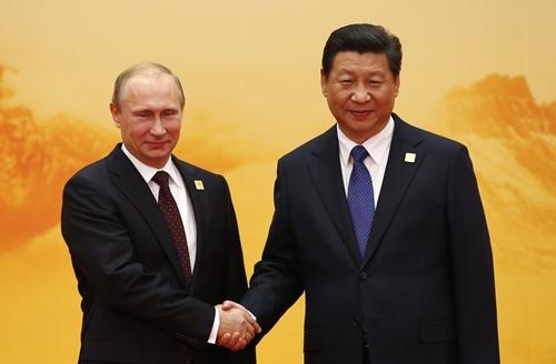 Cánh cửa liên minh quân sự Nga - Trung hé mở