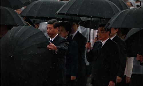 """Chiếc """"ô quốc khách"""" màu đen,giống chiếc từng được các lãnh đạo Trung Quốc sử dụng, cũng được nhiều khách hàng ưa chuộng. Ảnh: Taobao"""
