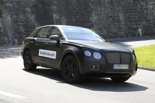Bentley Bentayga - SUV hạng sang Anh quốc mới
