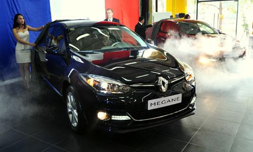 Renault Megane - đối thủ Ford Focus ra mắt tại Việt Nam
