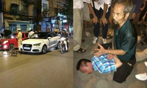'Bắc đại bàng' hạ gục thanh niên lái Audi gây xôn xao cộng đồng
