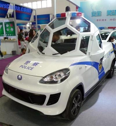 Xe chống đạn kỳ lạ ở Trung Quốc
