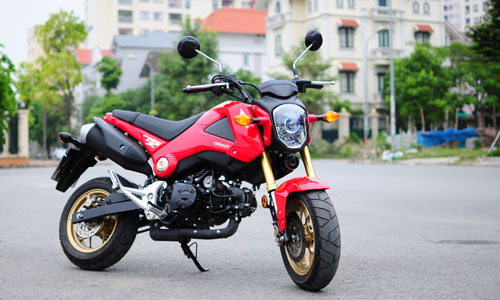 những mẫu xe máy hâm nóng thị trường việt nam 2014 - 7
