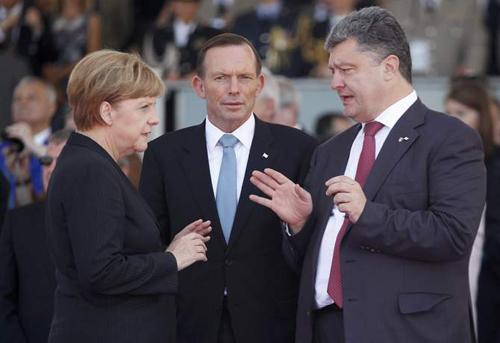 Tổng thống Ukraine đến Australia bàn về MH17