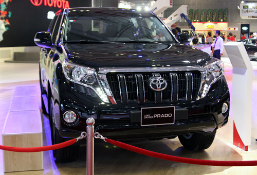 Toyota Land Cruiser Prado 2014 có giá 2.071 tỷ đồng.