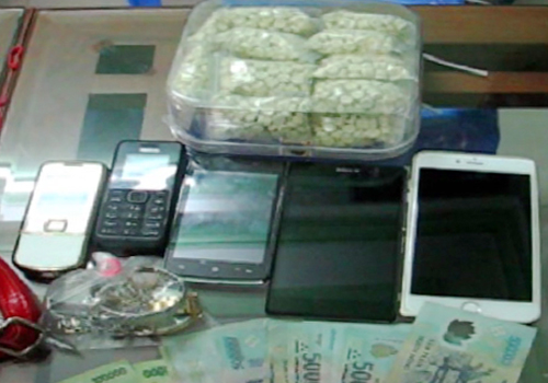 Đầu mối cung cấp thuốc lắc ở Đà Nẵng bị phát hiện