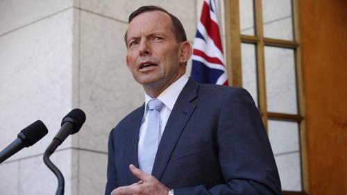 Thủ tướng Australia phát biểu về vụ bắt cóc sáng nay. Ảnh:Andrew Meares
