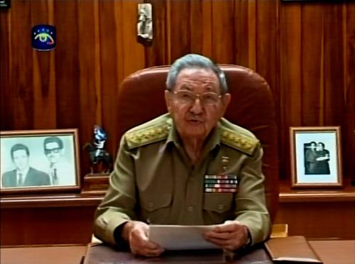 Chủ tịch Castro cũng hoan nghênh những động thái của Mỹ trong bài phát biểu trên truyền hình