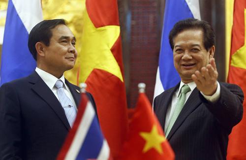 Thủ tướng dự thượng đỉnh Tiểu vùng Mekong tại Thái Lan