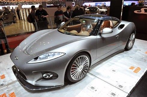 Hãng siêu xe Spyker tuyên bố phá sản