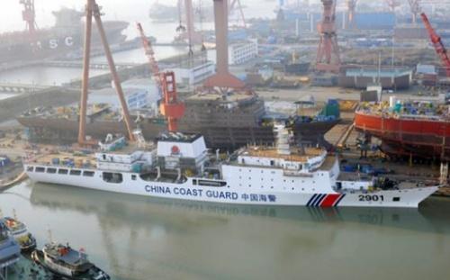 Trung Quốc sắp hạ thủy tàu tuần duyên lớn nhất thế giới