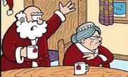 Ông già Noel vào nhà người yêu cũ lúc nửa đêm