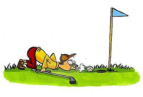 đọc truyện tranh không giám chơi golf
