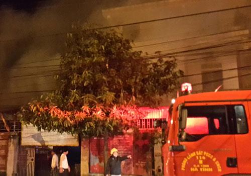 cudo1 6220 1419491037 Cháy cơ sở sản xuất kẹo cu đơ nổi tiếng nhất Hà Tĩnh