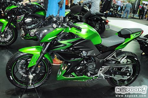 Kawasaki Z300 2015 giá 5.200 USD tại Thái Lan