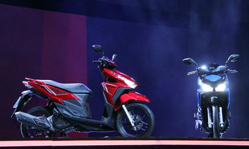 Honda ra mắt 4 mẫu xe máy mới tại Thái Lan