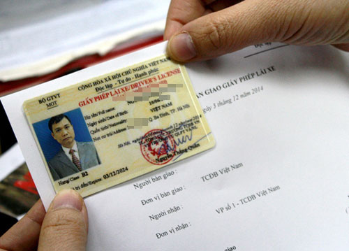 Đổi giấy phép lái xe không cần khám sức khoẻ