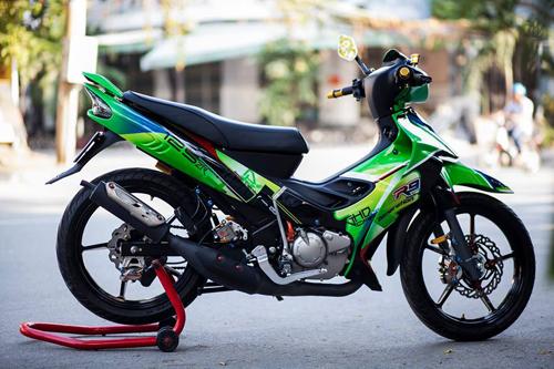 Yamaha Z125 độ 'khủng' 400 triệu tại Sài Gòn