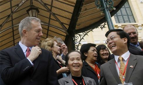 Việt - Mỹ 'đang rất gần mức quan hệ chiến lược'
